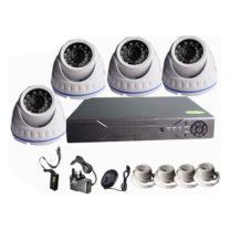 4 Channel CCTV Camera