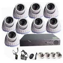 8 Channel CCTV Camera