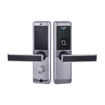 Fingerprint Door Lock chrome Series 918-88-F