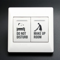 Do not Disturb / Make Up Room Switch  G2 wired